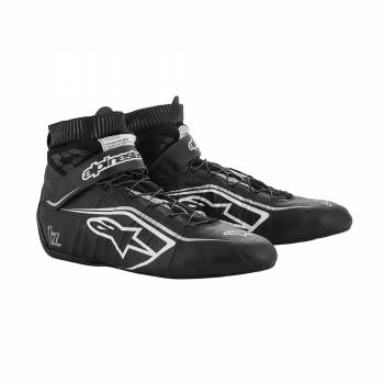 Alpinestars - Alpinestars Tech-1 Z V2 Racing Shoe 9.5 Black/White/Silver - Image 1