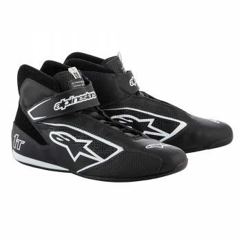 Alpinestars - Alpinestars Tech-1 T  Racing Shoe 9.0 BLACK/WHITE - Image 1