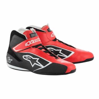 Alpinestars - Alpinestars Tech-1 T  Racing Shoe 8.0 RED/BLACK/WHITE - Image 1