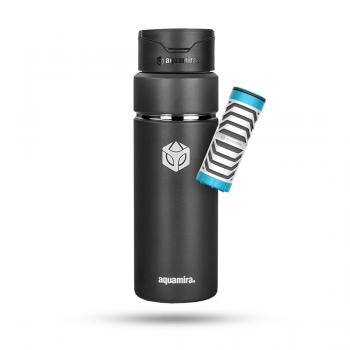 Aquamira - Aquamira SHIFT Filter Hydration Bottles 24 oz Black - Image 1