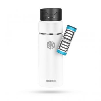Aquamira - Aquamira SHIFT Filter Hydration Bottles 24 oz White - Image 1
