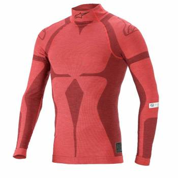 Alpinestars - Alpinestars ZX EVO V2 Top X Large Red/Dark Red - Image 1