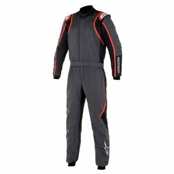 Alpinestars - Alpinestars GP Race V2 Racing Suit (FIA) 56 ANTHRACITE/BLACK/RED - Image 1