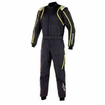 Alpinestars - Alpinestars GP Race V2 Racing Suit (FIA) 52 BLACK/YELLOW FLUO - Image 1