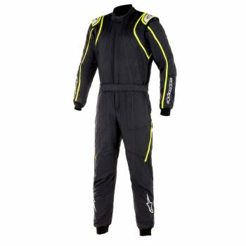 Alpinestars - Alpinestars GP Race V2 Racing Suit (FIA) 56 ANTHRACITE/BLACK/RED - Image 1
