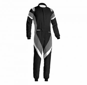 Sparco - Sparco Victory Racing Suit Boot Cut 48 Black/White - Image 1