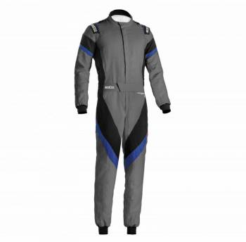 Sparco - Sparco Victory Racing Suit Boot Cut 64 Grey/Blue - Image 1