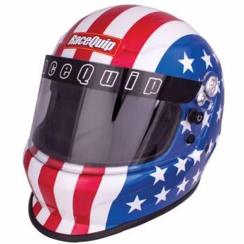 RaceQuip - RaceQuip Pro20 Helmet, America Graphic, 2X Large - Image 1