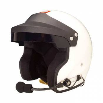 RaceQuip - RaceQuip Open Face SA2020ÿGloss White Small Wired - Image 1