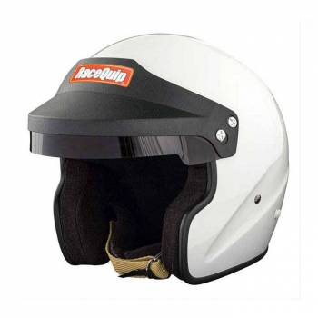 RaceQuip - RaceQuip Open Face SA2020Gloss WhiteX Large - Image 1