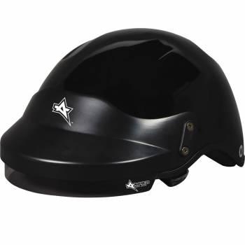 Amped - Amped Off Road DOT UTV Helmet Medium Black - Image 1
