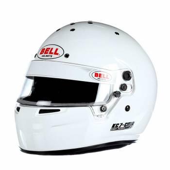 Bell - Bell KC7-CMR Kart Racing Helmet  6 3/4 (54) White - Image 1