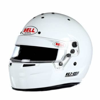 Bell - Bell KC7-CMR Kart Racing Helmet  7 1/8 (57) White - Image 1