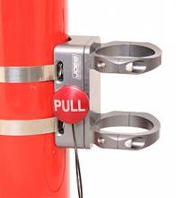 Billet Quick Release Fire Extinguisher Mount