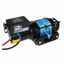 Bulldog 3400lb Winch w/ Synthetic Rope