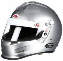Bell - Bell GP.2 Youth Racing Helmet, Silver - Image 1