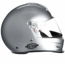 Bell - Bell GP.2 Youth Racing Helmet, Silver - Image 3