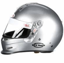 Bell - Bell GP.2 Youth Racing Helmet, Silver - Image 2