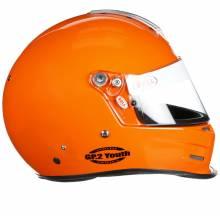 Bell - Bell GP.2 Youth Racing Helmet, Orange - Image 3
