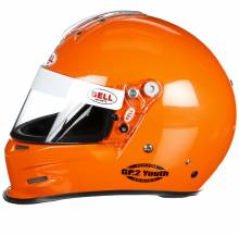 Bell - Bell GP.2 Youth Racing Helmet, Orange - Image 2