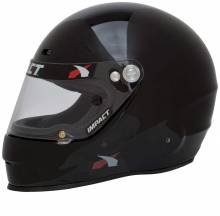 Impact Racing - Impact Racing 1320 No Air, X Small, Gloss Black - Image 3