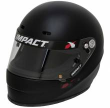 Impact Racing - Impact Racing 1320 No Air, Small, Flat Black - Image 1