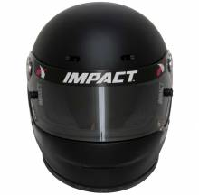 Impact Racing - Impact Racing 1320 No Air, Small, Flat Black - Image 2