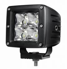 "Night Stalker Lighting - Night Stalker 3D High Energy 3"" Compact Driving Lights - 3"" x 3"" - Flood - Image 1"