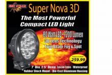 """Night Stalker Lighting - Night Stalker 80 Watt-7"""" Super Nova 3D - Image 4"""