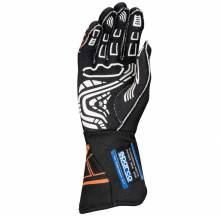 Sparco Closeout  - Sparco Lap RG-5 Racing Glove Small Black/Orange - Image 2