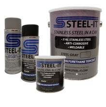 Steel-It - Steel-It Quart Gray - Image 1