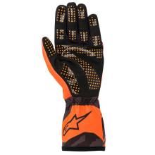 Alpinestars - Alpinestars Tech-1 K Race V2 Karting Glove Camo XX Large Orange Flou/Black - Image 2