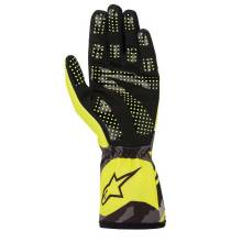 Alpinestars - Alpinestars Tech-1 K Race V2 Karting Glove Camo Small Yellow Flou/Black - Image 2