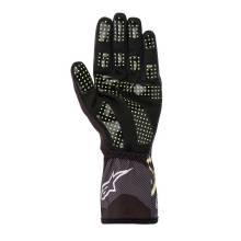 Alpinestars - Alpinestars Tech-1 K Race V2 Karting Glove Carbon Large Black/Lime Green - Image 2