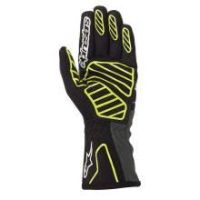 Alpinestars - Alpinestars Tech-1 K V2 Karting Glove Medium Black/Yellow Flou/Anthracite - Image 2
