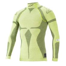 Alpinestars - Alpinestars ZX EVO V2 Top X Large Yellow Flou/Dark Yellow - Image 1