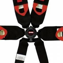"""RaceQuip - RaceQuip 6pt 3"""" Cam Lock Racing Harness FIA Red - Image 4"""
